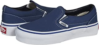 Vans Kids Classic Slip-On Core (Little Big Kid), Navy 4 M
