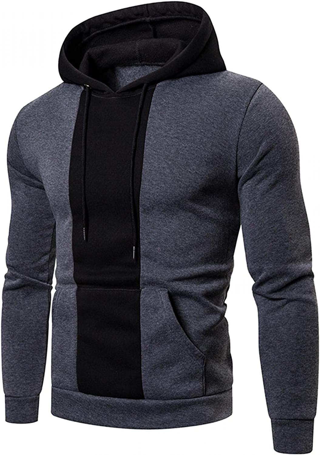 Hoodies Men Pullover Camouflage Sweatshirt Casual Comfy Loose Long Sleeve Workout Sports Sweater Hoodies for Boys