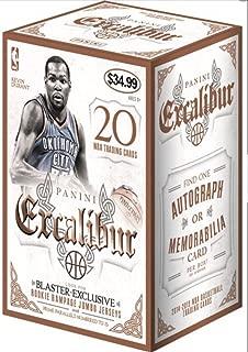 2014/15 Panini Excalibur NBA Basketball BLASTER box (20 cards, prepriced $34.99)