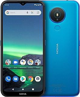 "Nokia 1.4 Android Smartphone Dual Sim, 3GB RAM, 64 GB Memory, 6.51""HD+Edge-to-Edge Screen, Face Unlock, Finger Print – Blue"