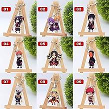 Leuke Cartoon Sleutelhanger Naruto/Mijn Hero Academia Sleutelhanger Ring Anime Dragonball Sleutelhanger Hot Sales