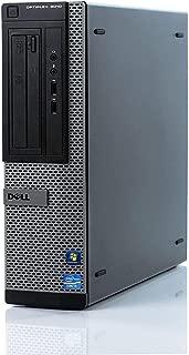 Dell Optiplex 3010 DT High Performance Business Desktop Computer, Intel Quad Core i5-3470 up to 3.6GHz, 8GB Memory, 2TB HDD, DVD, VGA, Windows 10 Professional 64 Bit (Renewed)