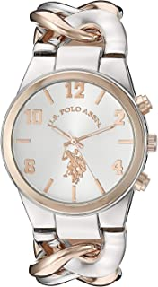 U.S. Polo Assn. Quartz Watch, Analog Display Watch for Women