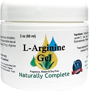 Naturally Complete L-Arginine 2 oz Jar   Also in 4 oz Jar   Non-GMO   Unscented   for Men and Women   Made in USA