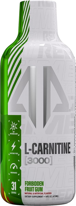 L-Carnitine 5 ☆ popular Liquid Branded goods Fat Metabolizer 3000 Zero by AP Regimen mg