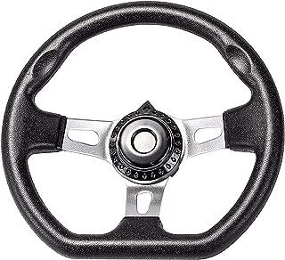 ZXTDR 10.6'' Steering Wheel For Mini Go Kart Buggy Kandi