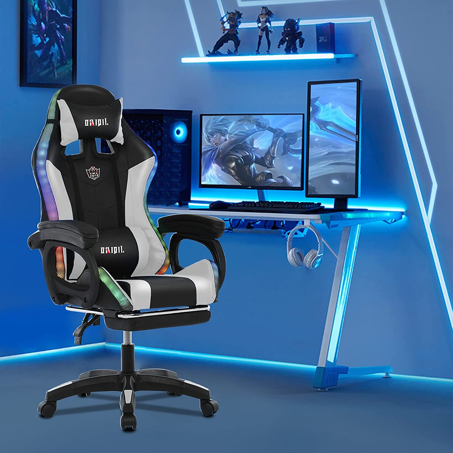 Gaming Ranking TOP14 Chair with Massage Function O Height Adjustable Selling rankings Computer