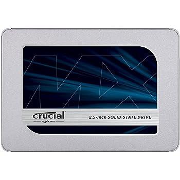 Crucial クルーシャル SSD 500GB MX500 SATA3 内蔵2.5インチ 7mm CT500MX500SSD1 7mmから9.5mmへの変換スペーサー付【5年保証】 [並行輸入品]