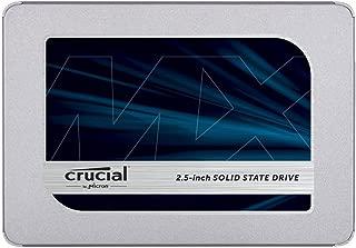 Crucial クルーシャル SSD 500GB MX500 SATA3 内蔵2.5インチ 7mm CT500MX500SSD1 9.5mmアダプター付【5年保証】 [並行輸入品]