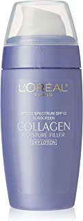 L'Oreal Paris Collagen Moisture Filler Facial Day Lotion SPF 15, All Skin Types, (Pack of 3)
