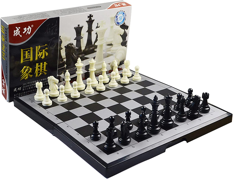 LINGOSHUN Our shop most popular Magnetic Travel Chess Set Edu with Bargain sale Folding Board