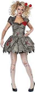 unbrand Creepy Voodoo Outfit Halloween Rag Doll Costume Adult Women