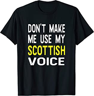 scotland's for me t shirt