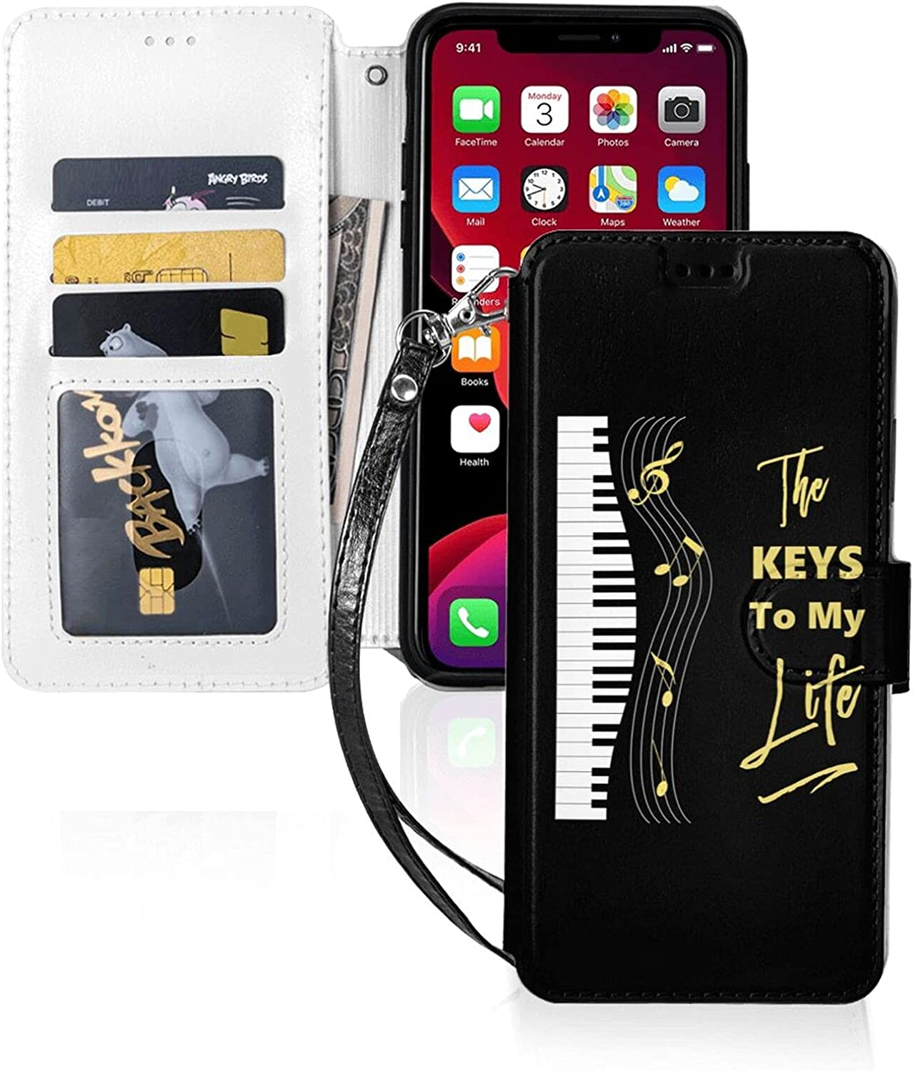 Piano Keyboard Players Music Notes Max 65% OFF Super popular specialty store Case for iPhone Pro Ca max 11