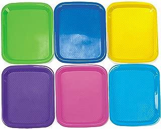Fun Express - Cool Craft Trays - Craft Supplies - Kids Beading - Beading Supplies - 6 Pieces