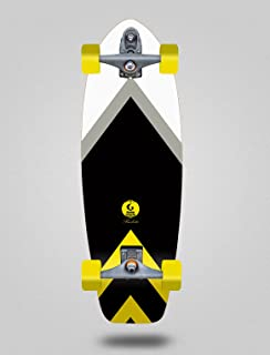 Glutier Surfskate with T12 Trucks Barbeito 31...
