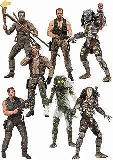 Predator 30 th anniversary 7-inch action figure set of 7