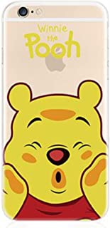 Phone Kandy Transparent Hard Shell Cartoon Case Skin & Screen Guard for iPod Touch 5 or 6 Prime (tt02) (iPod Touch 5/6, Pooh)