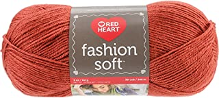 Red Heart Fashion Soft Yarn-Nutmeg (Pack Of 3)