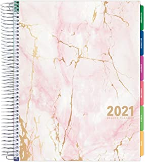 """$34 » Deluxe 2021 Planner: 14 Months (Nov 2020 Through Dec 2021) 8.5""""x11"""" Includes Page Tabs, Bookmark, Planning Stickers, Pocke..."""