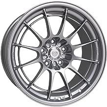 Enkei NT03+M (18 x 9.5, 5 x 114.3) 27mm Offset, Silver, (1) Wheel/Rim