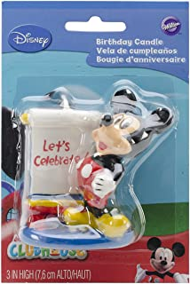 Wilton 2811-7070 Mickey Mouse Candle, 3
