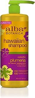 Alba Botanica Colorific Plumeria Hawaiian Shampoo, 32 oz.
