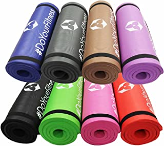 Fitness shaktí Yamuna/Extra-Gruesa y Suave, Ideal para Pilates, Fitness y Yoga, Dimensiones: 183 x 61 x 1,5 cm/en Muchos Coloures Disponibles.
