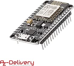 AZDelivery Módulo WiFi NodeMCU Lua Amica V2 ESP8266 ESP-12E WiFi Placa de Desarrollo con CP2102 para Arduino con ebook Gratis!
