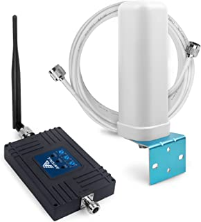 Cell Phone Signal Booster for Home and Office - Tri Band Repeater Amplifier Kit for AT&T Verizon Straight Talk 3G Voice 4G LTE Data.850/700MHz(Band 5/12/13/17)