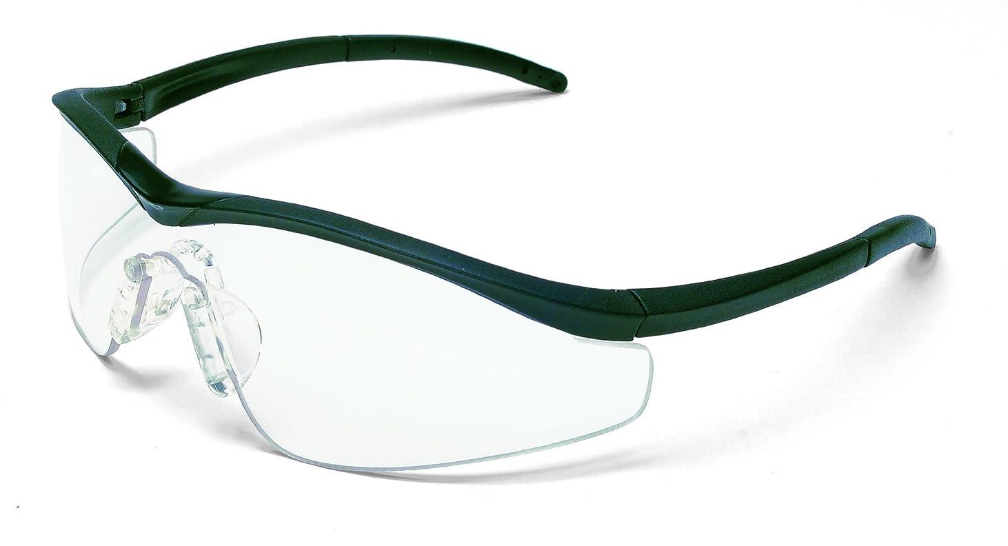 複雑波紋ビームCrews 135-T1110AF Triwear Onyx Frame Safety Glasses Clear Af Lens
