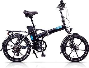 Magnum Premium – High Step Folding Electric Bicycle - 48V 13A Samsung Lithium Battery – 500-Watt Rear Motor – Rear Rack – Alloy Wheels – Ebike
