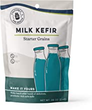 Cultures For Health Milk Kefir Grains | Easy DIY Probiotic Kefir | Heirloom Kefir Grains Let You Re-use Them Many Times Without Any Loss In Nutrients | Non GMO, Gluten Free | 1 Packet In A Box