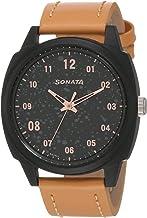 Sonata Volt+ Analog Black Dial Men's Watch NM77086PL01 / NL77086PL01