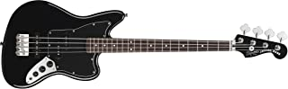 Squier by Fender 328800506 Vintage Modified Jaguar Special Short Scale Bass, Black