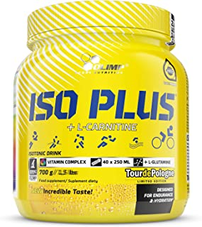 OLIMP Iso Plus Powder - Polvo isotónico para hidratación