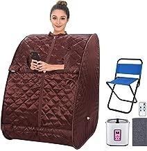 Portable Personal Sauna 2L Home Steam Sauna Tent Folding Indoor Sauna Spa Weight Loss..