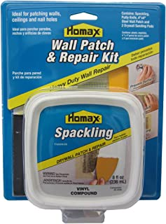 Drywall Patch and Repair Kit, Wall Patch Kit with 8 fl. oz. Spackling, 3
