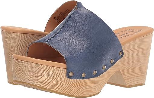 Navy Full Grain Leather