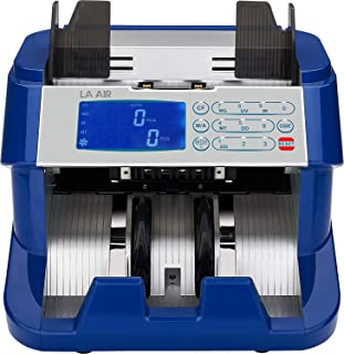 Bank Grade Money Counter Machine (UV, MG, IR, DD) Counterfeit Bill Detector | Money Bill Counter Machine for Business & Bank Use - This Money Machine Counter Doesn't Count Value of Cash Bill
