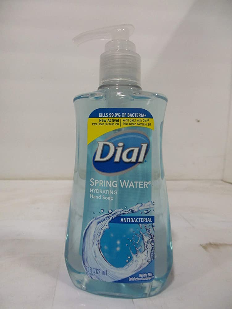 退化するコーチマイクロフォンDial 抗菌せっけん湧水7.50オズ(12パック)