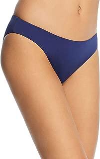 Eberjey Women's Shore Blue So Solid Annia Bikini Bottom, Medium