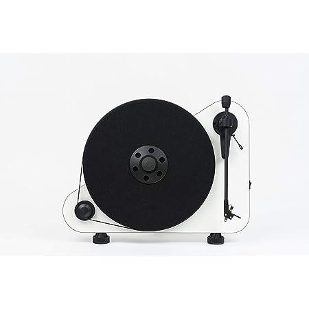 Pro Ject Vt E R Bt Vertikaler Plug Play Plattenspieler Mit Bluetooth Rechtshänder Weiß Audio Hifi
