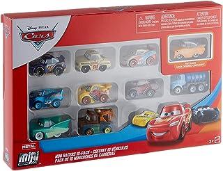 Disney Cars Pack de 10 Mini vehículos, Modelos Surtidos Pix