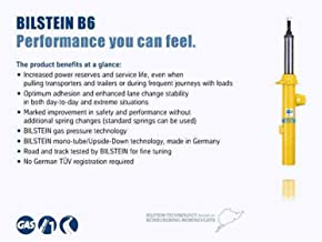 Bilstein 46-274021 B6 4600 Shock Absorber Conversion Kit Replacement For Rear OE Nivomat Suspension Incl Two Coil Springs And Two Monotube Shock Absorbers B6 4600 Shock Absorber Conversion Kit