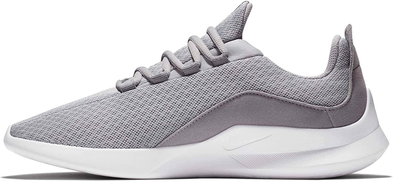 (8 M US, Wolf Grey Black - Cool Grey) - NIKE Men's Viale Running shoes