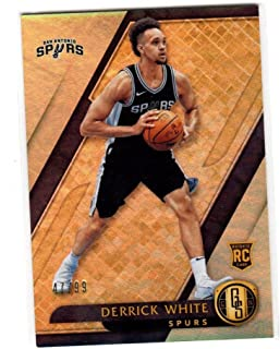 2017-18 Panini Chonricles Gold Standard Derrick White #154 NM Near Mint RC Rookie 47/99