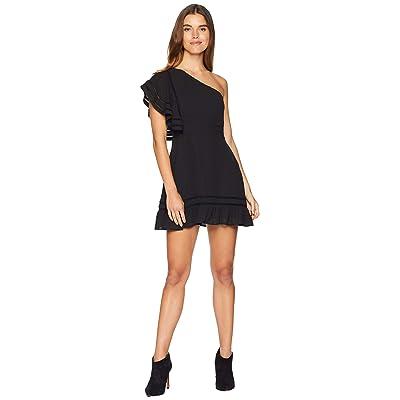 BB Dakota Toast To The Town One Shoulder Dress (Black) Women