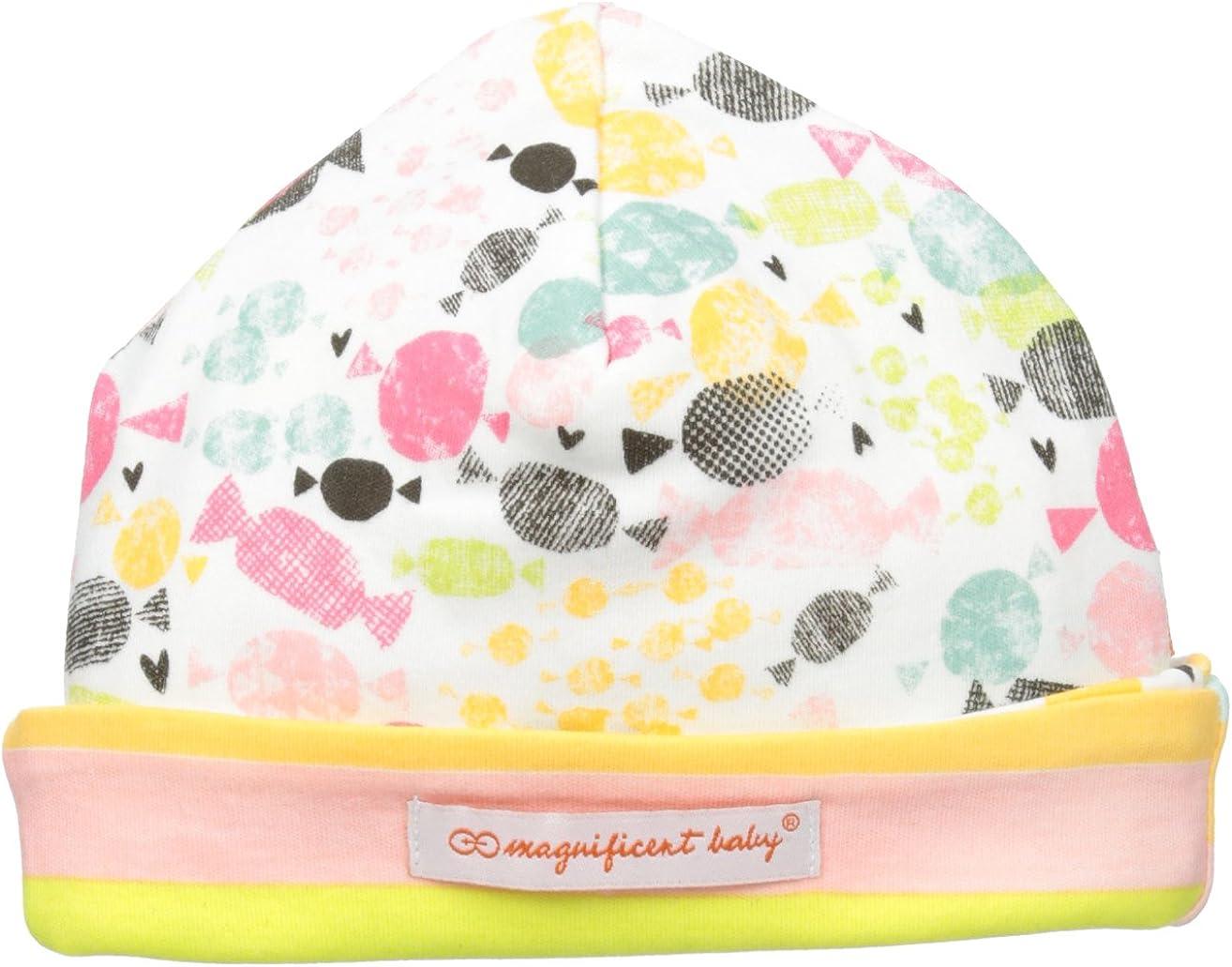 Magnificent Baby Baby-Girls Newborn Sweet Treats Reversible Hat
