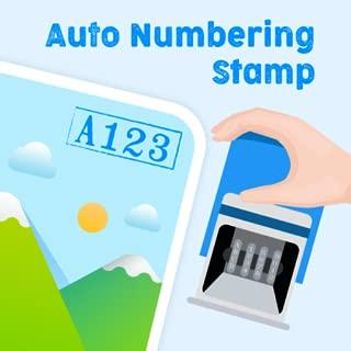 Auto Numbering Stamp